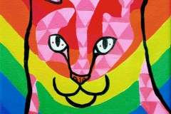 Gay Pride Alley Cat I