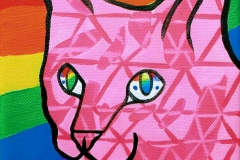 Gay Pride Alley Cat II